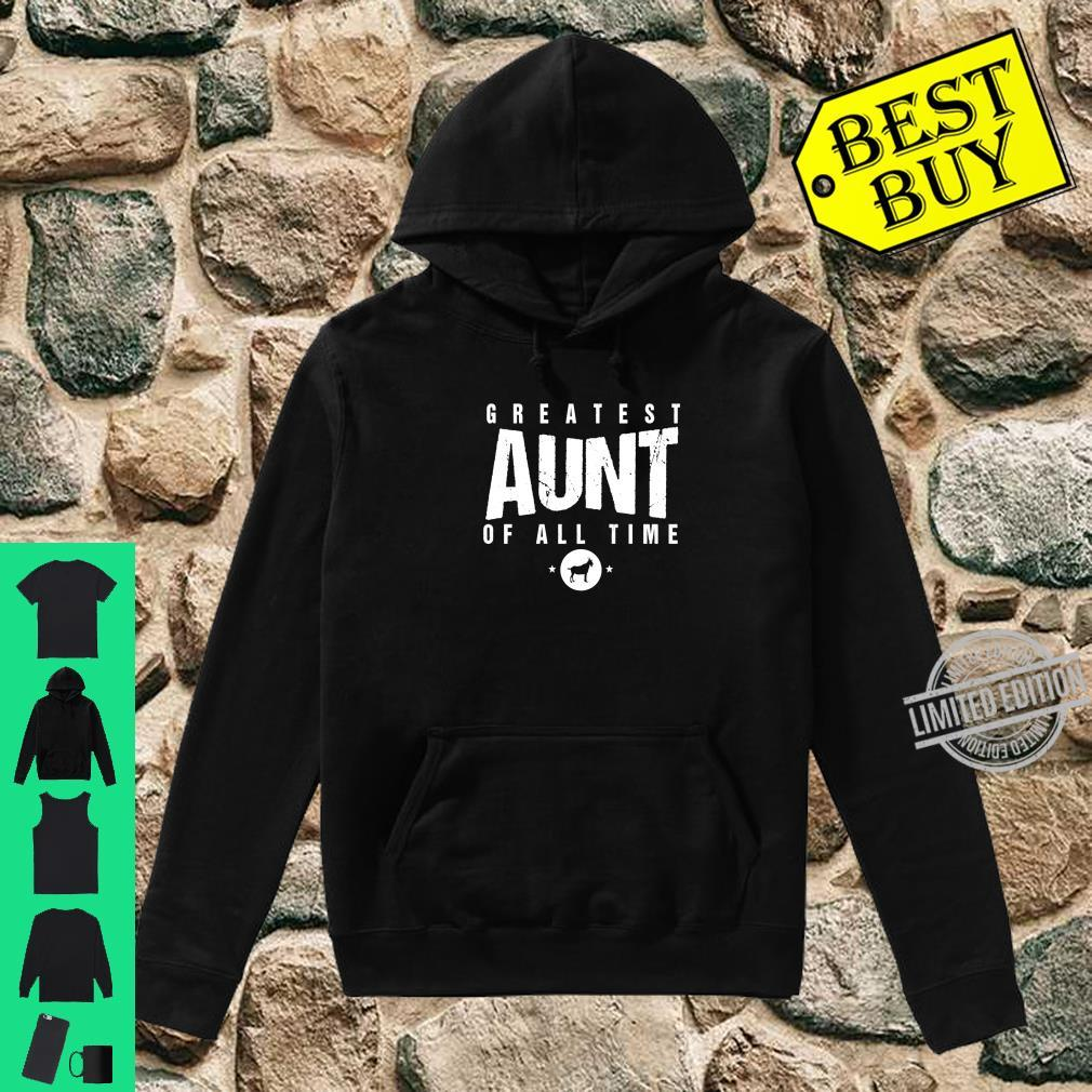 Greatest Aunt of All Time Aunts Day #1 Best Aunty Goat Shirt hoodie