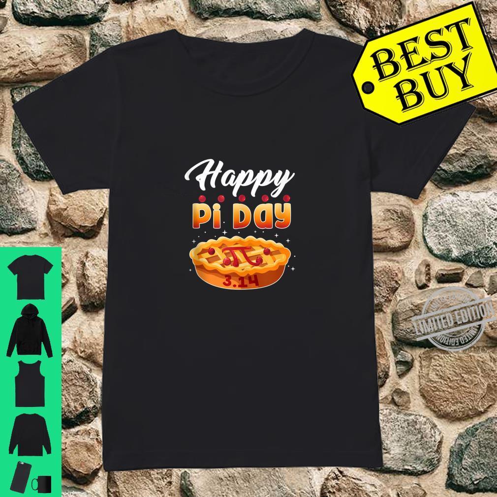 Happy Pi Day Shirt Pie Math Teacher 3.14 Shirt ladies tee