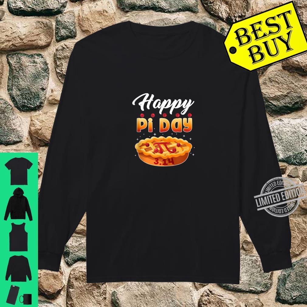 Happy Pi Day Shirt Pie Math Teacher 3.14 Shirt long sleeved