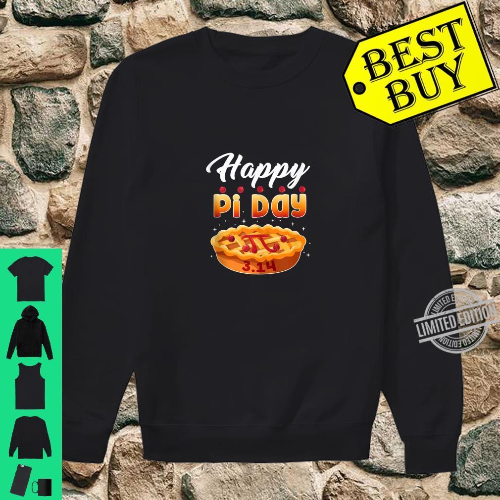 Happy Pi Day Shirt Pie Math Teacher 3.14 Shirt sweater