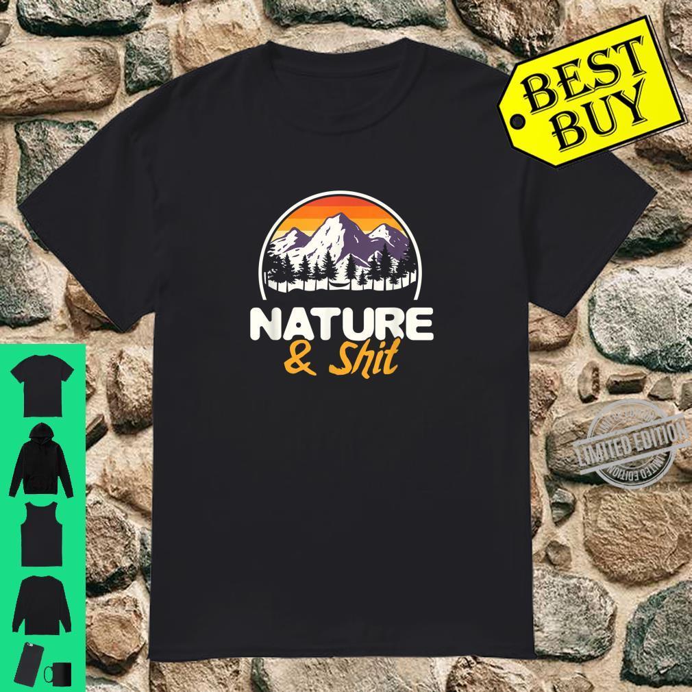 Natur Wanderliebhaber Bergsteiger Wald Wandern Shirt
