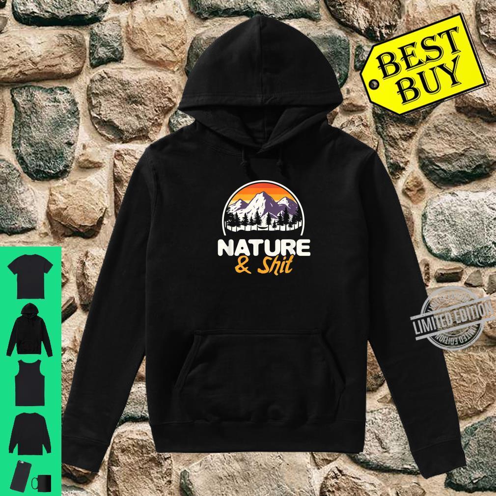 Natur Wanderliebhaber Bergsteiger Wald Wandern Shirt hoodie