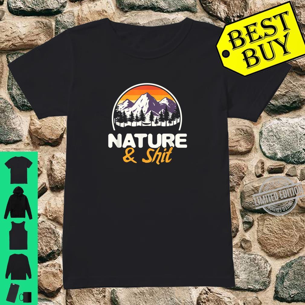 Natur Wanderliebhaber Bergsteiger Wald Wandern Shirt ladies tee