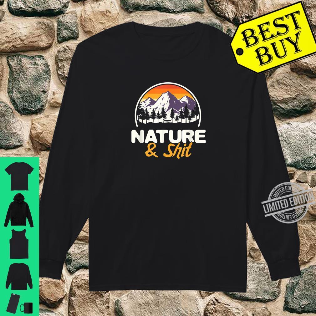 Natur Wanderliebhaber Bergsteiger Wald Wandern Shirt long sleeved