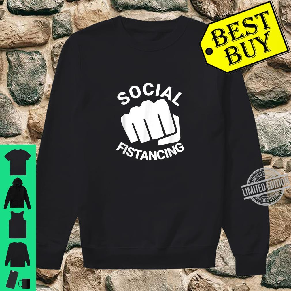 Social Fistancing Fist Kink Sex Adult Naughty Shirt sweater