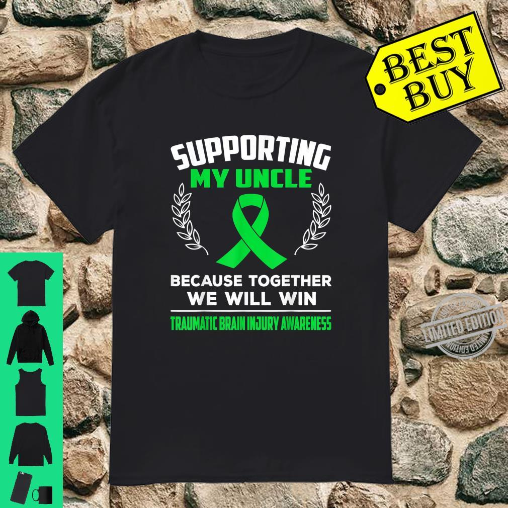 Supporting my uncle TRAUMATIC BRAIN INJURY AWARENESS Shirt