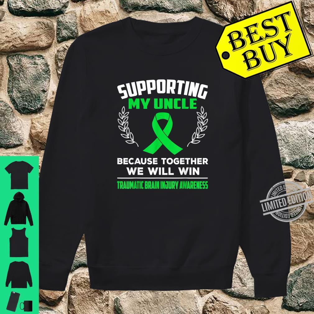 Supporting my uncle TRAUMATIC BRAIN INJURY AWARENESS Shirt sweater