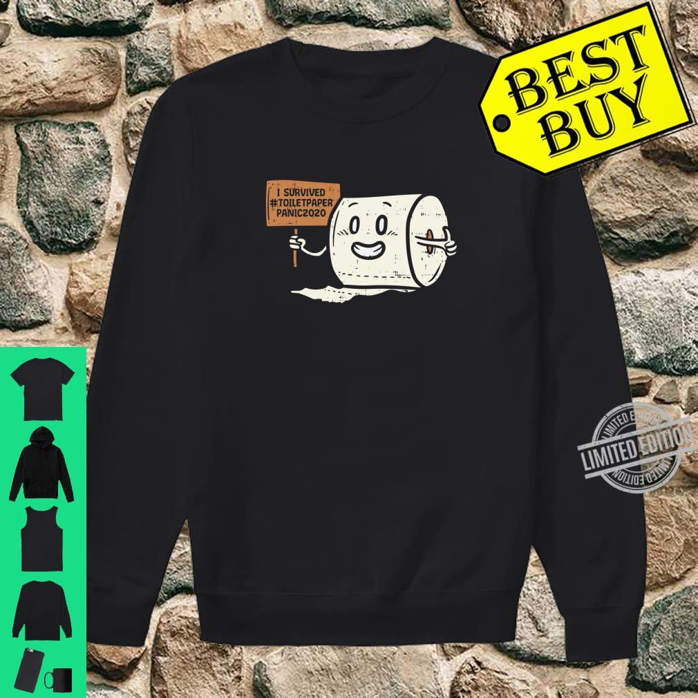 Survived #Toiletpaper Panic 2020 Scare Shirt sweater