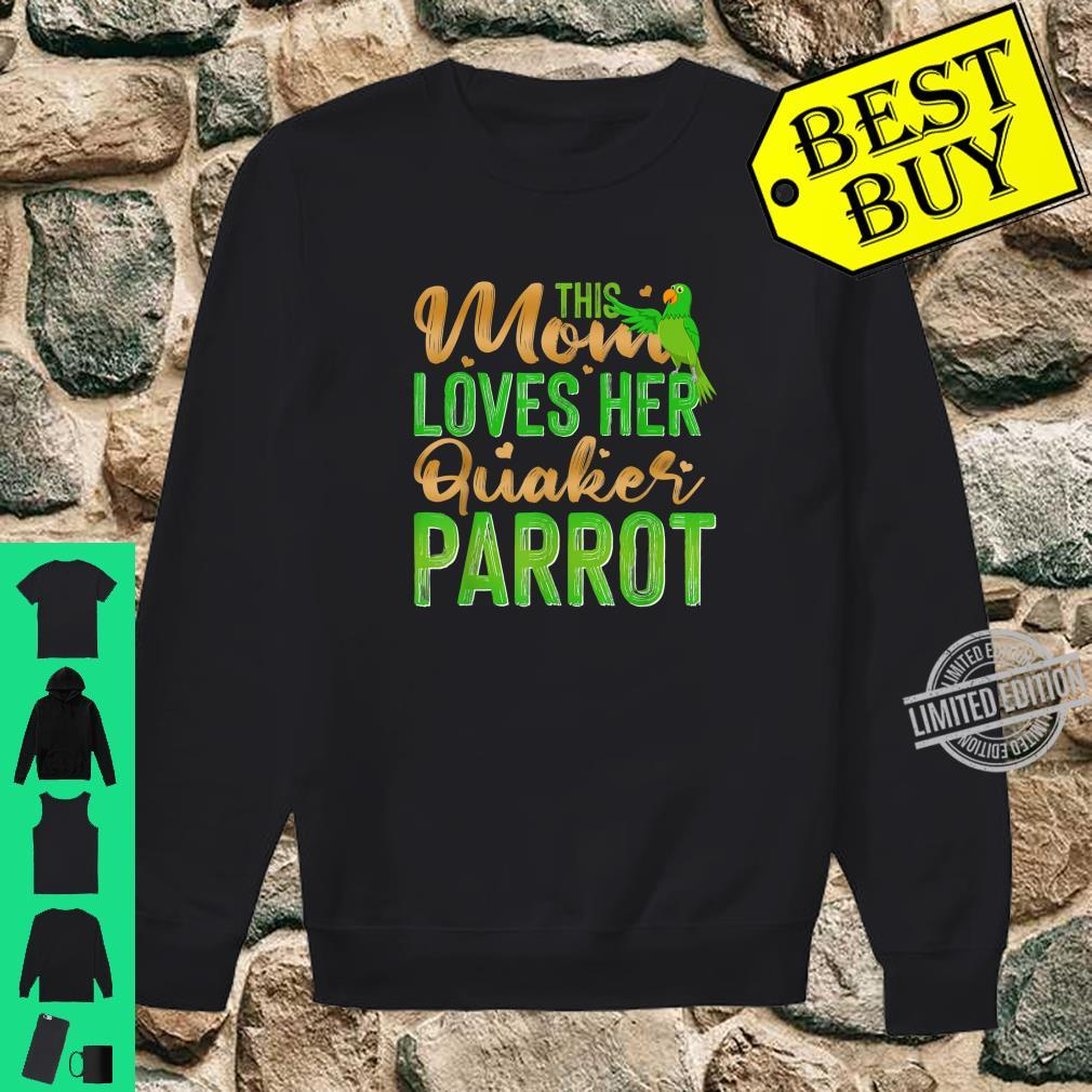 This Mom Loves Her Quaker Parrot Shirt sweater